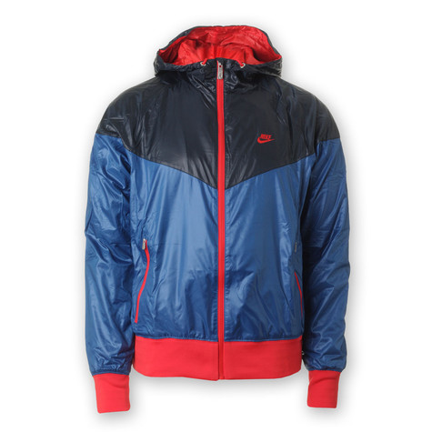 530802ec9f Nike - Windrunner Jacket (Team Royal   Dark Obsidian   Challenge Red ...