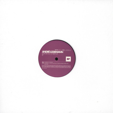 Andre Lodemann - Vehemence Of Silence EP (incl. Motorcity Drum Ensemble Remix)