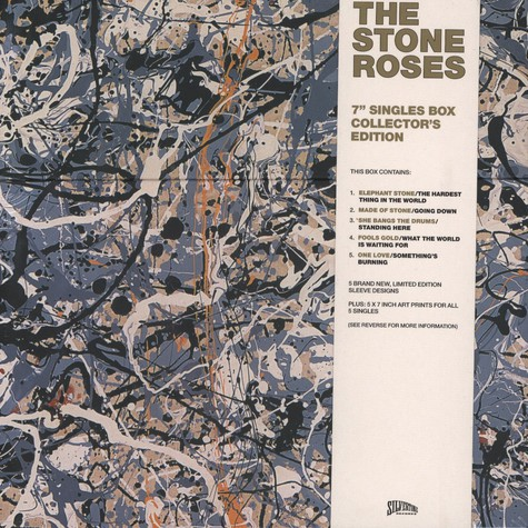 "Stone Roses, The - The Complete Silvertone 7"" Singles Collection"