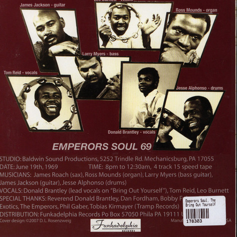 Emperors Soul, The - Bring Out Yourself