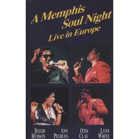 V.A. - A Memphis Soul Night - Live In Europe