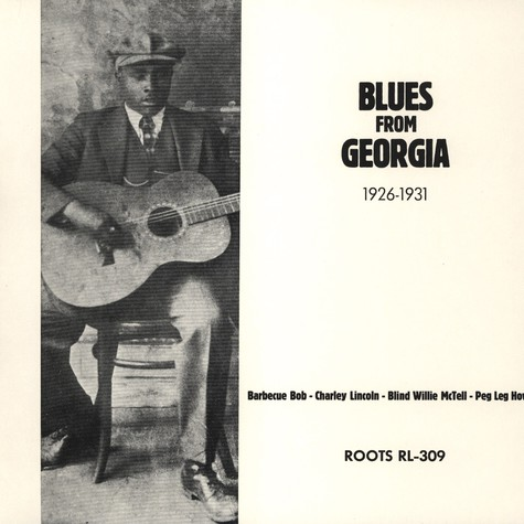 V.A. - Blues From Georgia 1926 - 1931