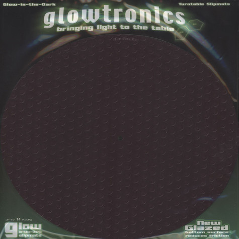 Glowtronics - Carbon Fiber Glow In The Dark Slipmat