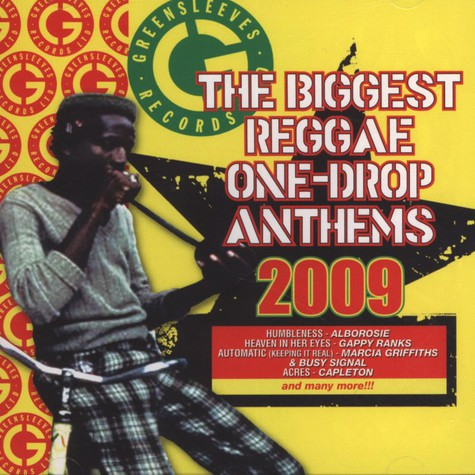 V.A. - The biggest Reggae one-drop anthems 2009