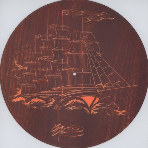 Sicmats - Woodgrain Ship By SSUR Slipmat
