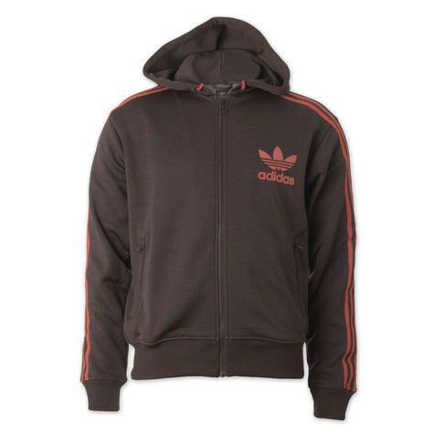 adidas - Adi Hooded Flock Track Top