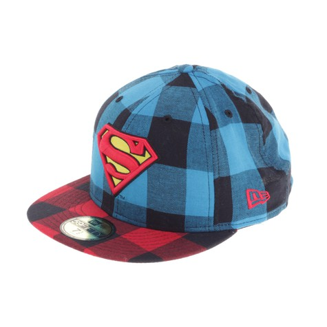 New Era x DC Comics - Superman DC Plaids Cap