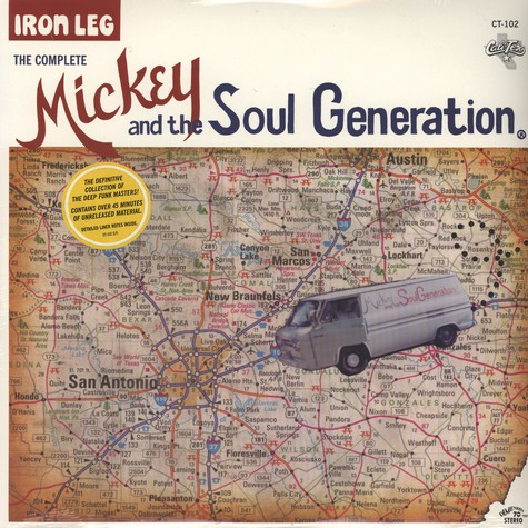 Mickey And The Soul Generation - Iron leg the complete Mickey And The Soul Generation