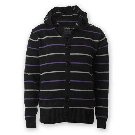 Acrylick - Mr. Rodgers Hooded Cardigan