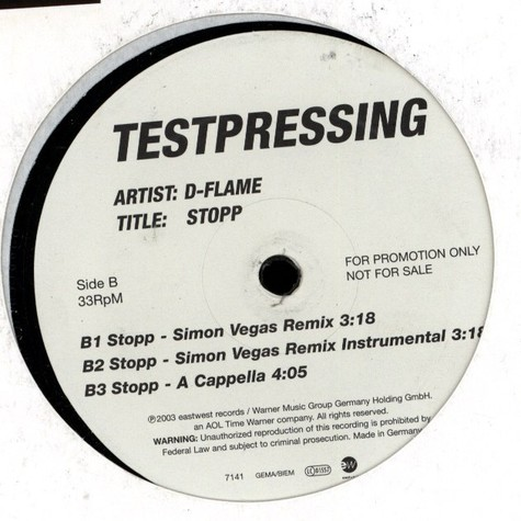 D-Flame - Stopp
