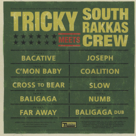 Tricky & South Rakkas Crew - Tricky Meets South Rakkas Crew