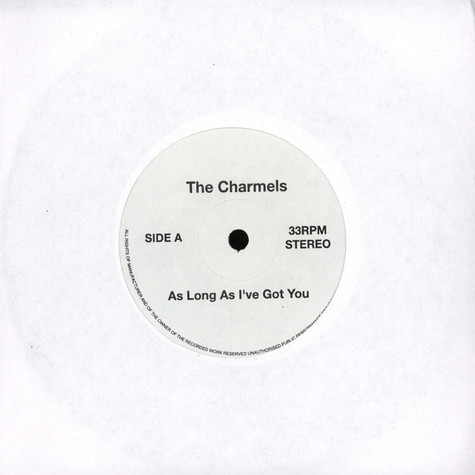 Charmels, The - As Long As I ve Got You