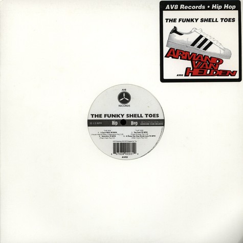 Armand Van Helden - The funky shell toes EP