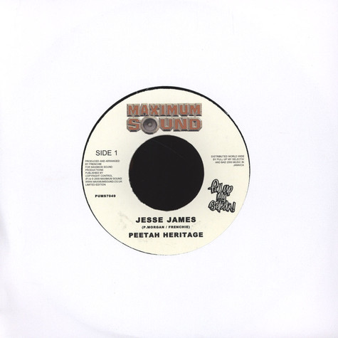 Peetah Heritage / Lukie D - Jesse James / Crying Out