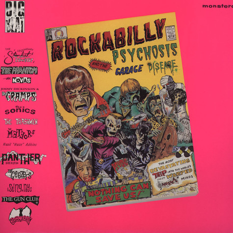 V.A. - Rockabilly Psychosis & Garage Disease