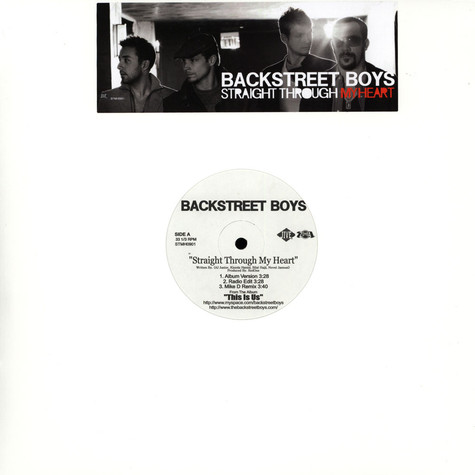 Backstreet Boys - Straight Through My Heart