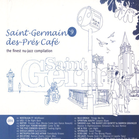 Saint Germain Des Pres Cafe - Volume 9