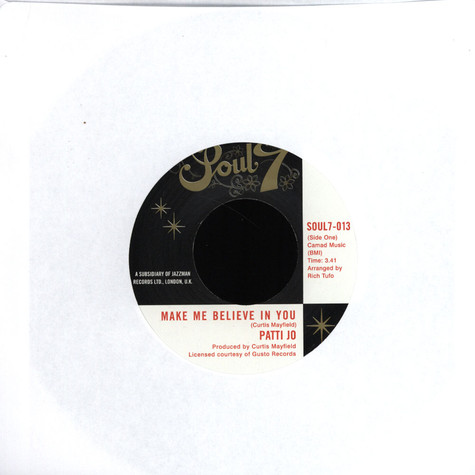 Patti Jo / The Masqueraders - Make Me Believe in You / Do You Love Me