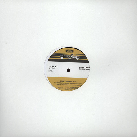 Sace 2 - Special Limited Electrofunk EP