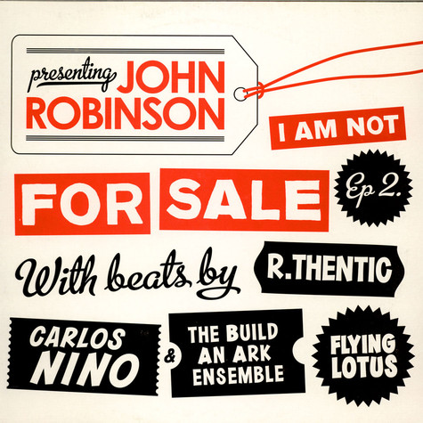 John Robinson - I Am Not For Sale EP 2
