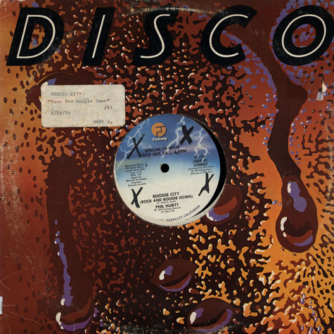 Phil Hurtt - Boogie City (Rock And Boogie Down)