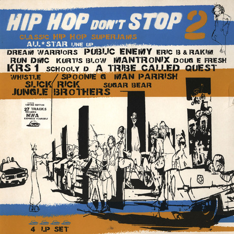 V.A. - Hip Hop Don't Stop 2