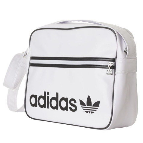 a7948a8a14f8 adidas - Adicolor Airliner Bag (White   Black)