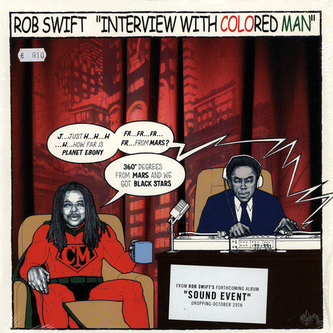Rob Swift - Interview with colored man feat. Supernatural & DJ Radar