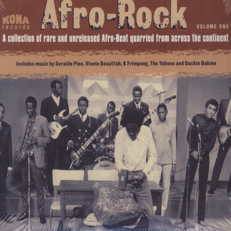 Afro Rock - Volume 1 - A Collection Of Rare And Unreleased Afro-Beat Quarried From Across The Continent
