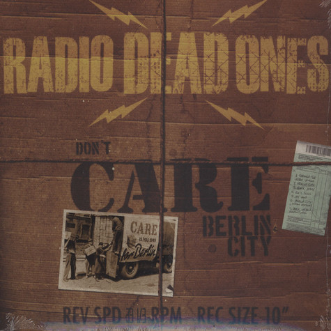 Radio Dead Ones - Berlin City EP