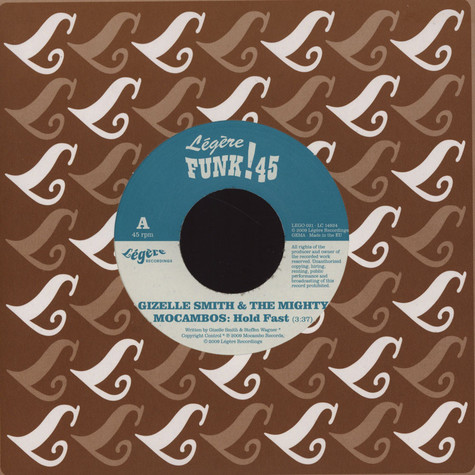 Gizelle Smith & The Mighty Mocambos / The New Mastersounds - Hold Fast / 102%