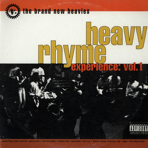 Brand New Heavies, The - Heavy Rhyme Experience: Vol. 1