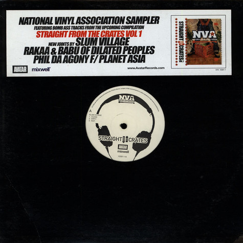 NVA - Straight from the crates vol. 1 Album Sampler