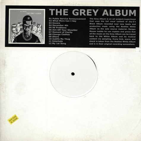Jay-Z & Dangermouse - The Grey Album