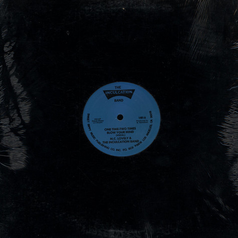 M.C. Lovely & The Inculcation Band - One Time - Two Times Blow Your Mind
