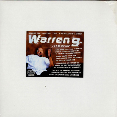 Warren G - Get U Down