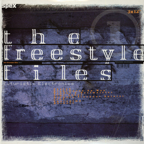 V.A. - Freestyle files vol.3, the