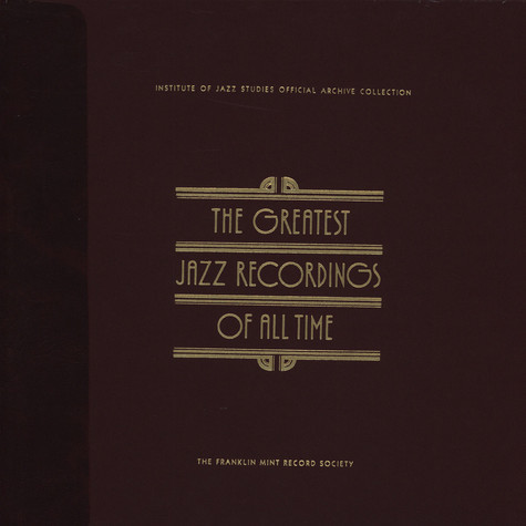V.A. - The Greatest Jazz Recordings Of All Time - The Jazz Singers