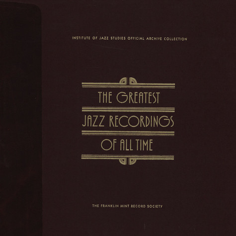 V.A. - The Greatest Jazz Recordings Of All Time - The Roots Of Jazz