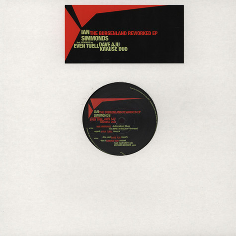 Ian Simmonds - The Burgenland Reworked EP