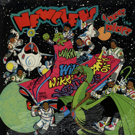 Newcleus - Space Is The Place