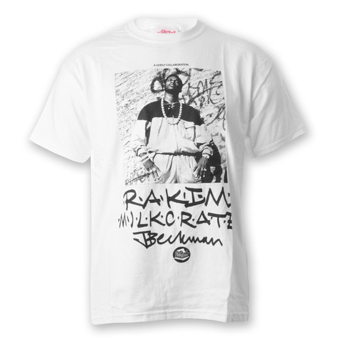 Milkcrate Athletics - Rakim x MC T-Shirt