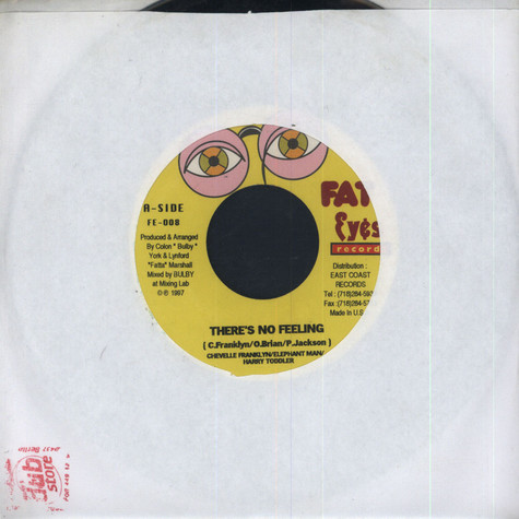 Elephant Man/ Harry Toddler/ Chevelle Franklin - There's no Feeling