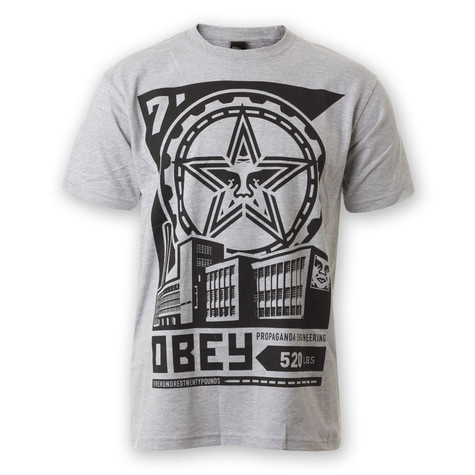 Obey - Factory LockUp T-Shirt