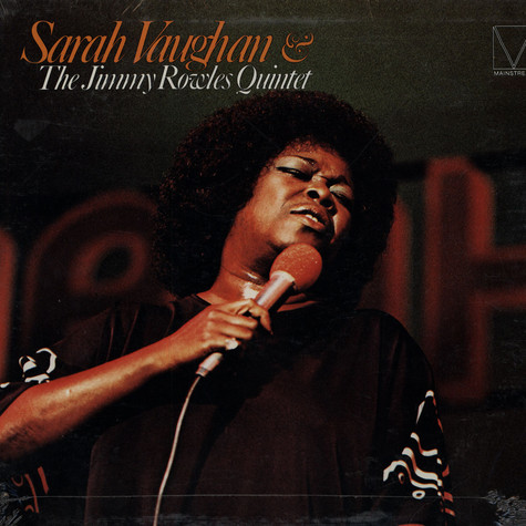 Sarah Vaughan & The Jimmy Rowles Quintet - Sarah Vaughan & The Jimmy Rowles Quintet