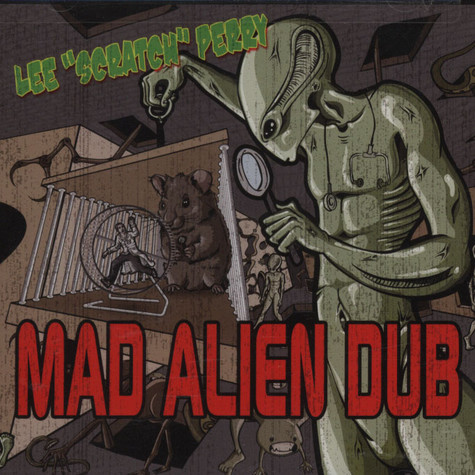 Lee Scratch Perry - Mad Alien Dub