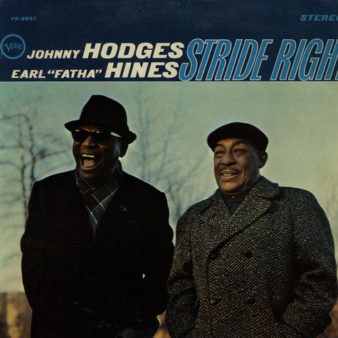 "Johnny Hodges / Earl ""Fatha"" Hines - Stride Right"