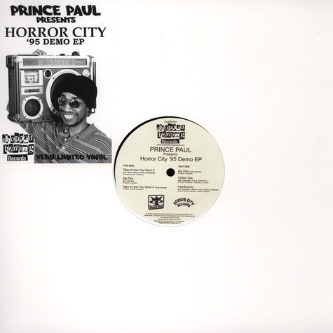 Prince Paul presents Horror City Productions - Horror City 95 Demo EP