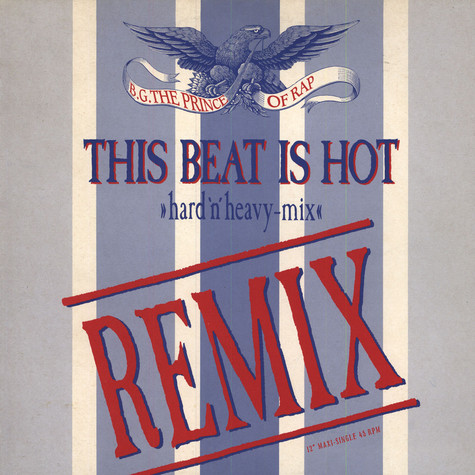 B.G. The Prince Of Rap - This beat is hot (Remix)