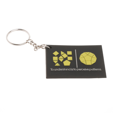 Imaginary Foundation - Patterns Keychain
